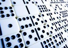 De bakstenen van de domino Stock Fotografie
