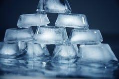 De bakstenen van het ijs Stock Fotografie
