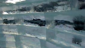 De bakstenen van het ijs Stock Afbeeldingen