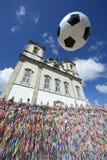 De Bal Salvador Bahia Brazil van het voetbalvoetbal royalty-vrije stock fotografie