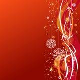 De bal-sneeuwvlok-ster-golven van Kerstmis royalty-vrije illustratie