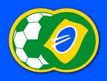 De bal van Brazilië Royalty-vrije Stock Fotografie