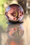 De bal van Cystal Stock Foto's