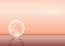 De bal van Cystal Royalty-vrije Stock Foto's