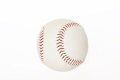 De bal van de basis die op wit ba wordt geïsoleerdg Stock Afbeeldingen