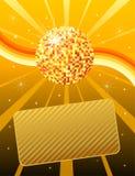 De bal van de disco Royalty-vrije Stock Afbeeldingen