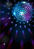 De Bal van de disco Het kan voor prestaties van het ontwerpwerk noodzakelijk zijn Royalty-vrije Stock Foto's