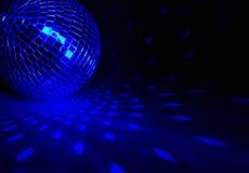 De bal van de disco met lichten Stock Afbeeldingen