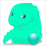 De bal van de draak stock illustratie
