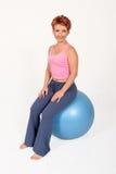 De bal van de gymnastiek royalty-vrije stock fotografie