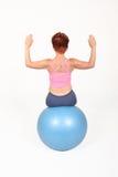 De bal van de gymnastiek royalty-vrije stock foto