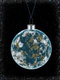 De bal van de kerstboom Stock Foto's