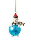 De bal van de kerstboom Royalty-vrije Stock Foto's