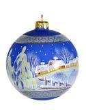 De bal van de kerstboom Stock Foto