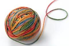 De bal van de kleur Stock Afbeeldingen