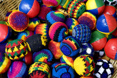 De bal van de kleur voor spel Stock Fotografie