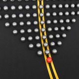 De bal van de leider Stock Afbeelding