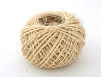 De bal van de linnenstreng Stock Foto's