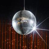 De bal van de nachtclubdisco stock afbeelding