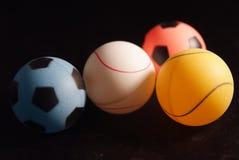 De bal van de pingpong Royalty-vrije Stock Foto's