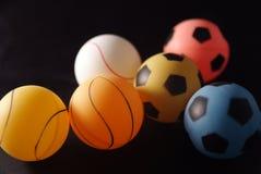 De bal van de pingpong Royalty-vrije Stock Afbeeldingen