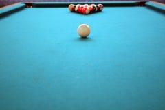 De bal van de pool Stock Foto