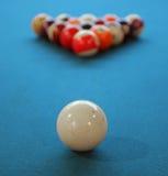 De bal van de pool stock afbeelding