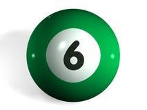 De bal van de pool Stock Fotografie