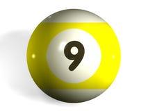 De bal van de pool Royalty-vrije Stock Afbeelding