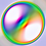 De bal van de regenboog Royalty-vrije Stock Foto's