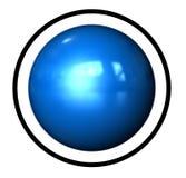 De Bal van de Ring van het pictogram Stock Foto