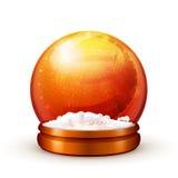 De bal van de sneeuw Royalty-vrije Stock Foto's