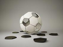 De bal van de voetbal Royalty-vrije Stock Foto