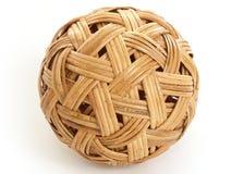 De Bal van het bamboe Stock Fotografie