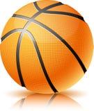 De bal van het basketbal. Stock Afbeelding