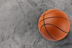 De bal van het basketbal Stock Fotografie
