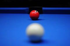 De bal van het biljart Royalty-vrije Stock Foto's
