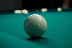 De bal van het biljart Stock Afbeelding