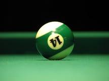 De bal van het biljart Royalty-vrije Stock Afbeeldingen