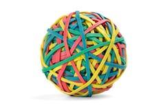 De bal van het elastiekje Royalty-vrije Stock Fotografie