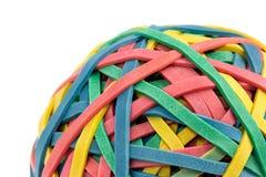 De bal van het elastiekje Stock Foto