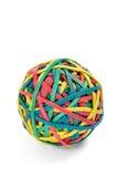 De bal van het elastiekje Stock Foto's