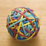 De bal van het elastiekje. Royalty-vrije Stock Foto's