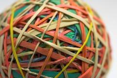 De bal van het elastiekje Stock Fotografie