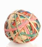 De bal van het elastiekje Stock Afbeeldingen