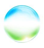 De bal van het glas Royalty-vrije Stock Fotografie