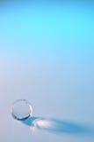 De bal van het glas op achtergrond Royalty-vrije Stock Foto's