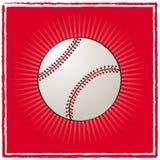 De bal van het honkbal Stock Fotografie