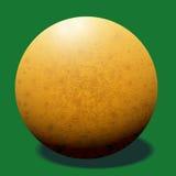De bal van het ivoorbiljart. Royalty-vrije Stock Fotografie