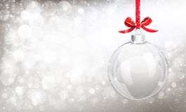 De bal van het Kerstmisglas Royalty-vrije Stock Foto